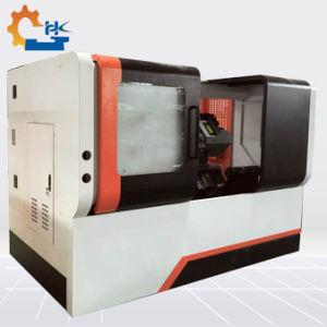 Torno CNC de torreta Siemens Ck63L Taiwán Torno CNC tipo torreta cama inclinado de la máquina