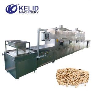 Correia Industrial Tipo Porcas de Grãos Microondas de cura de secagem da máquina de esterilização