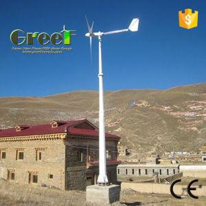 10kw Eixo Horizontal turbina eólica off-grid e sistema de grade