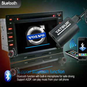 Kit Bluetooth Yatour aux en la interfaz de video de Volvo
