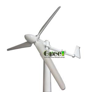 Wartungsfrei, 20year lange Lebensdauer, horizontale Wind-Turbine der Mittellinien-2kw für Wind-Solarhybrides Rechnersystem