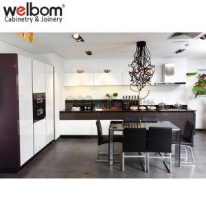 Welbom australischer Lack-moderner Küche-Schrank Haus-Entwürfe