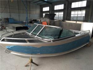 Abelly Runabout de aluminio barco con todos los soldados para la venta