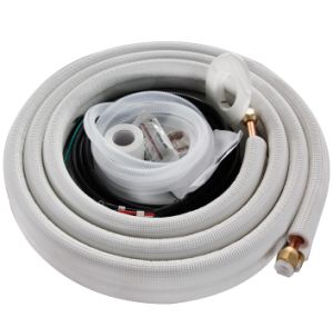 Tubo di alluminio connettente isolato del condizionamento d'aria del tubo di rame