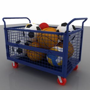 بضائع يحملون حامل متحرّك من حامل متحرّك عربة