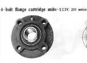4-Bolt Flange Cartridge Units Ucfc200 Series (UCFC206)