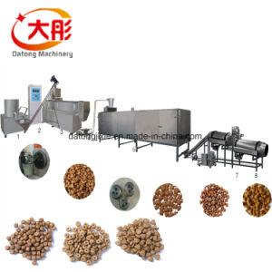 A produção de alimentos de pelotas de peixes Pet Coxim Extrusor