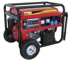 генератор газолина 5.5kw звукоизоляционный портативный с аттестациями CE/Soncap/CIQ