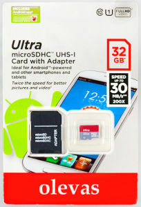 Reales Capacity Micro Memory Card TF Card Micro Sd Card Ultra 1GB-2GB-4GB-8GB-16GB-32GB-64GB-128-256GB mit 3 Years Sandisc Factory Warranty