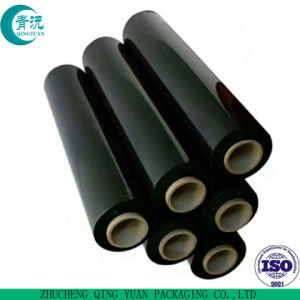 주문을 받아서 만들어진 투명한 PVC/PE 플라스틱 수축 깔판 뻗기 포장 필름