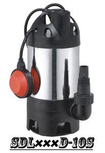 (SDL400D-10S) сад из нержавеющей стали на полупогружном судне насос с двумя розетками для грязной воды или чистой воды