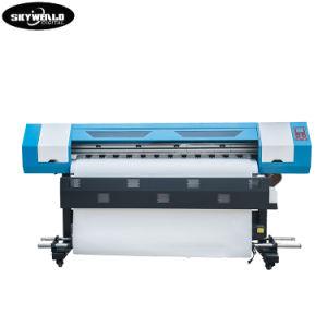 1,8 metro de largura única Cabeça Sublimação de Tinta Impressora jato de tinta do papel