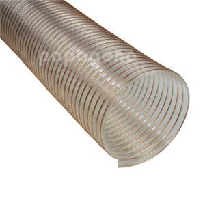 1-20 25мм-500мм PU Гибкий воздуховод: производство и деревообработка