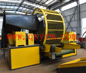 Triturador de pneus de veículos de alta potência