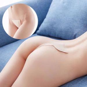 Señoras sexy lencería Hot abierto de gran tamaño cola perfecta T Back Panty Tanga cadena C