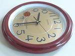 13 pulgadas de madera de estilo europeo Reloj de pared de color