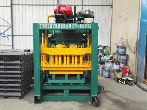 Qtj4-25c Blok die van de Baksteen van de Vliegas van de Bouw het Automatische Concrete Machine maken