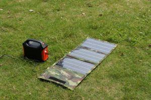 Sistema di generatore solare di energia solare della centrale elettrica solare portatile del rifornimento 100W