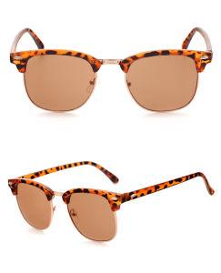 2018 helft-Rand de Randloze Zonnebril van Eyewear UV400 van de Manier van de Ontwerper