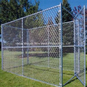 Recinto di filo metallico galvanizzato metallo di obbligazione di collegamento Chain per il giardino zoologico/gabbia animale