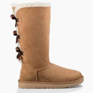 Las mujeres Bailey Bow Tall botas de nieve botas de invierno
