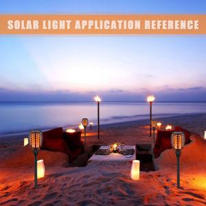 Solargarten beleuchtet Fackel-Lichter der wasserdichte Landschaft96led Solar-LED für im Freien Garten-Rasen-Solargarten-dekorative Lichter