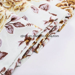 2018 Tejido de punto y tejido Velboa Imprimir