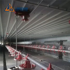 L'acier de la Structure de la conception du toit de délestage de Parking Maison de la volaille