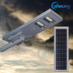 Factory Direct tout-en-un/Lumière LED solaire extérieur intégré de la rue du capteur de lampe avec une luminosité élevée