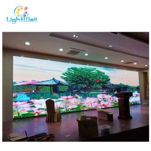 Lightwell P2.5 P3 P2 P4 P5 P6 HD de Color RGB fija de Interior / Alquiler de etapa de la pantalla de vídeo LED