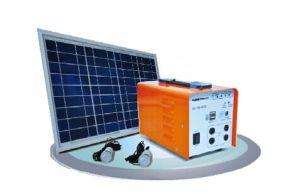 Mini sistema de Geração de Energia Solar Portátil