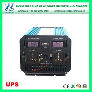 UPS 2000W DC48V AC220/240V Inversores Conversor senoidal pura (QW-P2000UPS)