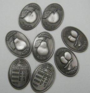 3D Label, Beverage Adhesive Label, 3D Sticker, Metal Embossed Label, Pewter Label