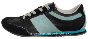 Zapatos ocasionales de la comodidad de cuero de la manera de los hombres de China (815-6729)