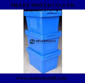 混戦の固体スタック可能プラスチックの箱型