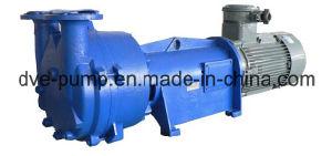 Koaxialwasser-Ring-Vakuumpumpe mit Direktanschluss-Entwurf