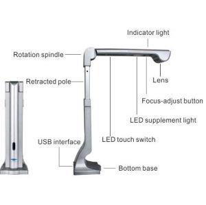 Beweglicher USB2.0 A3 Buch-Scanner, USBportable-Scanner