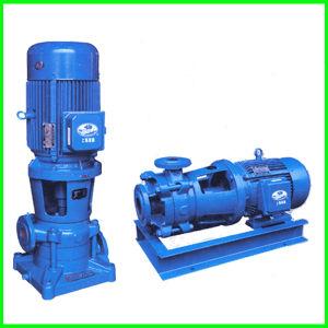 Pompa centrifuga delle acque luride in-linea verticali