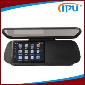5.0 pulgadas espejo Bluetooth GPS Navigator con cámara de marcha atrás