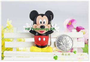 美しくかわいいミッキーマウスの漫画USBのフラッシュ駆動機構(HBU-105)