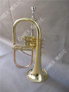 Catégorie populaire Flugelhorn (FL-265AL)/instrument en laiton Flugelhorn