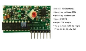 Décodeur de régénération sans fil recevant un module RF