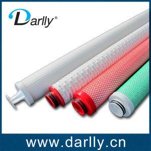 Cartucho do filtro de pregas utilizado para o petróleo
