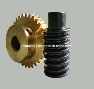 정밀도 Small Brass 또는 Copper/Bronze Stepper Motor Worm Gear