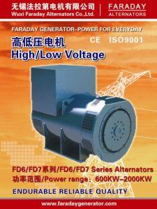 2250Faraday kVA/1800kw Gerador do alternador sem escovas de Íman Permanente (2 anos de garantia) FD7F