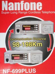 Nanfone Nf-669plus Téléphone sans fil longue portée à la Base de Base