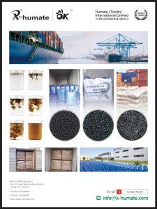 Het hoge Oplosbare Kalium Humate van de Meststof Foilar van Leonardite