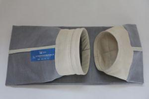 Sac de filtre en fibre de verre avec membrane en PTFE / Tissu filtrant