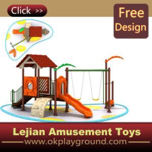 Intéressant les enfants de l'équipement de terrain de jeux de plein air en plastique (X1222-5)