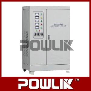 Dbw/SBW-50kVA única compensação de alta potência da série / Estabilizador de tensão trifásica